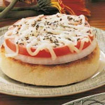 soğan 'n' domates tepesinde kekler