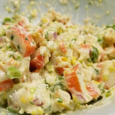 mel's yengeç salatası