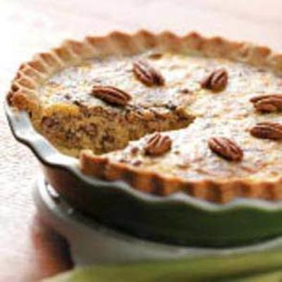 Harvest Sausage and Pear-Pecan Quiche