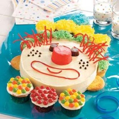 mutlu palyaço keki