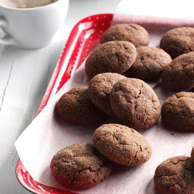 Sweet Orange and Chili Pepper Chocolate Cookies