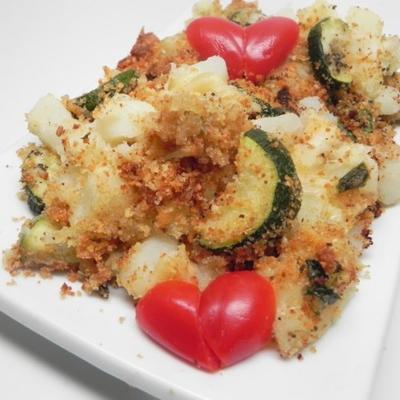 sebzeli doğranmış patates güveç