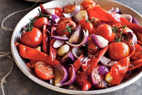ızgara sebzeler