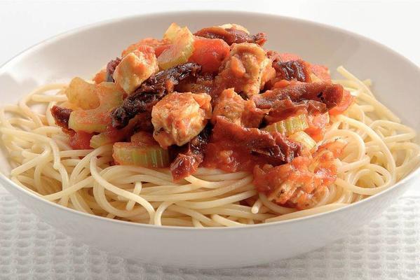 vejeteryan spagetti Bolonez