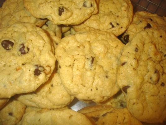 yulaf ezmesi fıstık ezmesi çikolatalı kurabiye