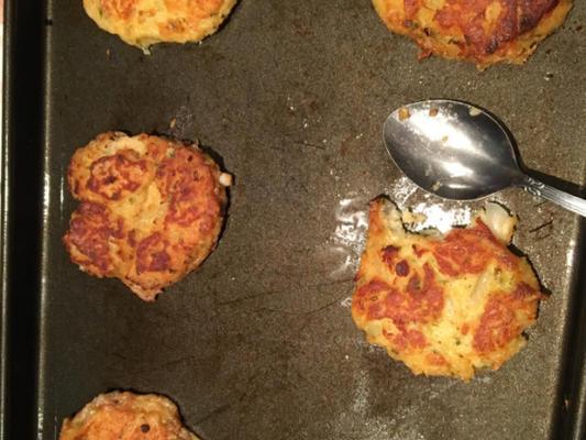 alman usulü gevrek patates pancakes