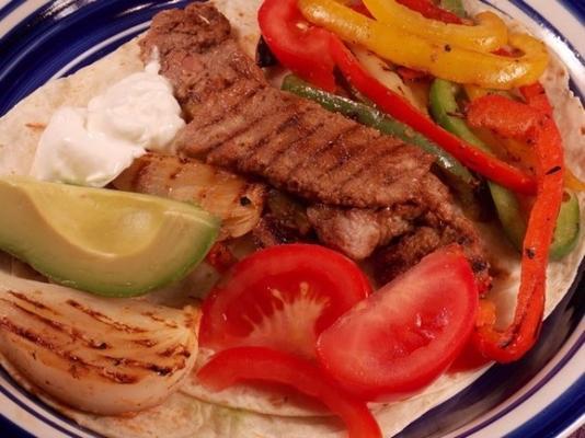 fajitas - arrachera - ızgara etli biftek