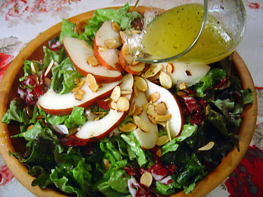 tutku meyvesi salata sosu