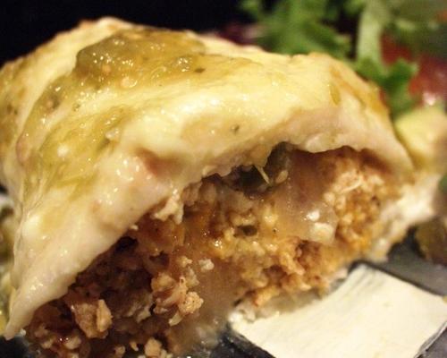süper kolay ve lezzetli tavuk enchiladas