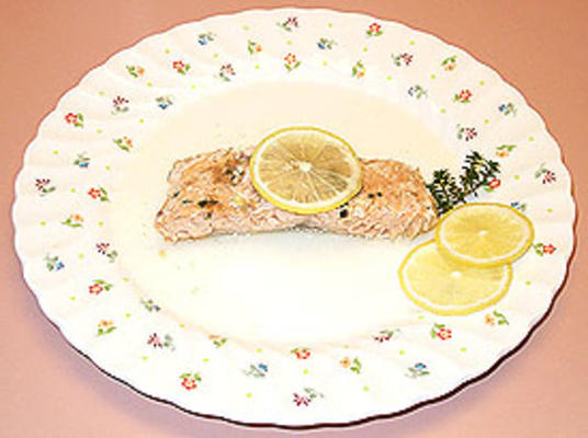 Baked Salmon with Coriander and Thyme