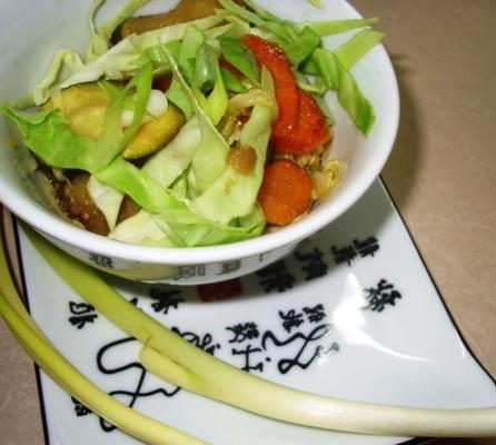Teriyaki Cabbage