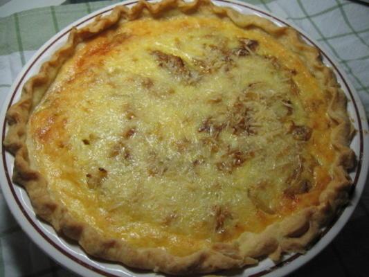 Savoury Cheeseburger Onion Pie