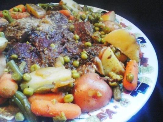 sebzeli püresi veya rosto