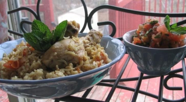 Al Kabsa - Ancient Arabian Chicken and Fragrant Rice