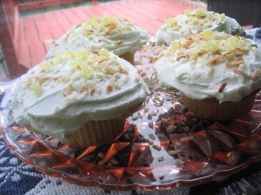 Ginger-Lemon Cupcakes