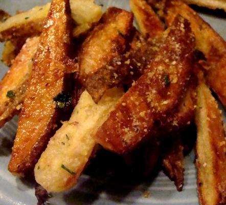 parmesan ve sarımsaklı patates kızartması