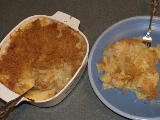 peynirli taraklı lahana