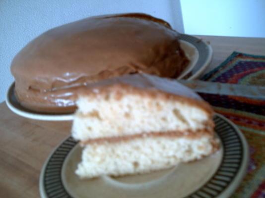 lezzetli karamelli katman kek