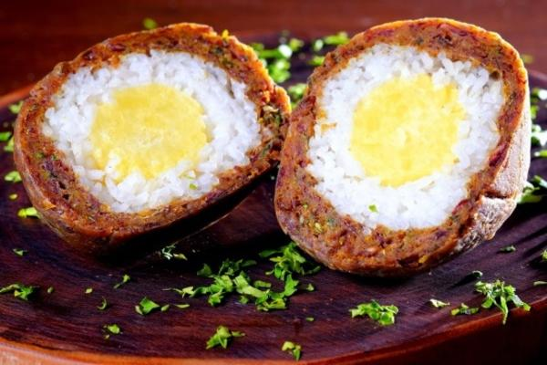 vegan İskoç yumurtaları