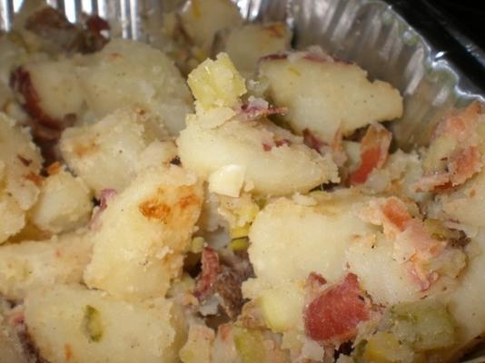 Patates n 'pastırma Barbekü veya fırın