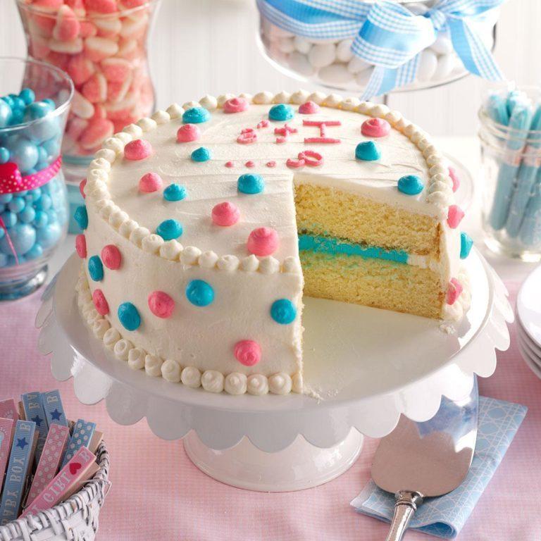 Kırmızı beyaz ve mavi pasta