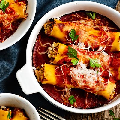 Fındık ile cannelloni