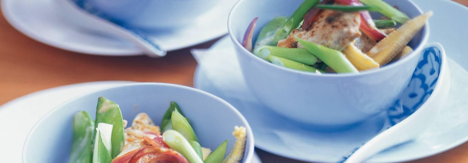 Bahar sebzeli domuz eti bonfile köri
