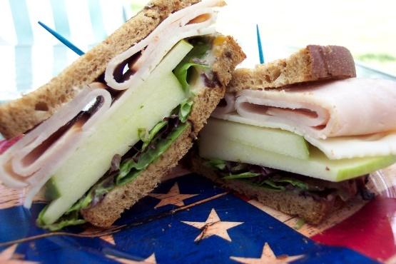 Pop's Roast Turkey Sandwich